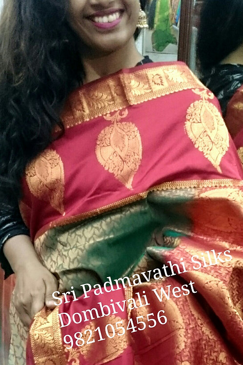 Tilaka Bridal Pattu Saree