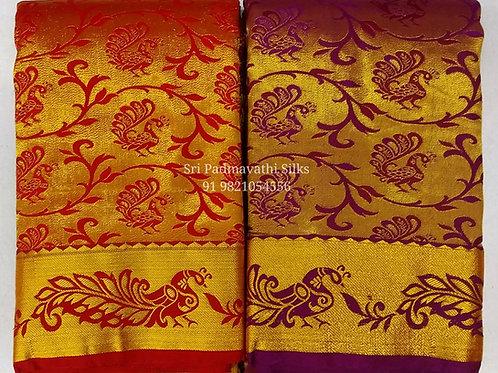 Shivangi Collection - Bridal Brocade Saris