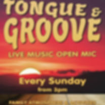 Tongue & Groove, Every sunday from 3pm _