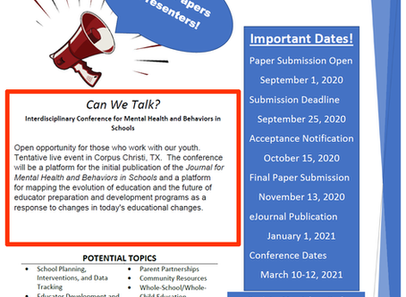 Call for Papers and Presenters