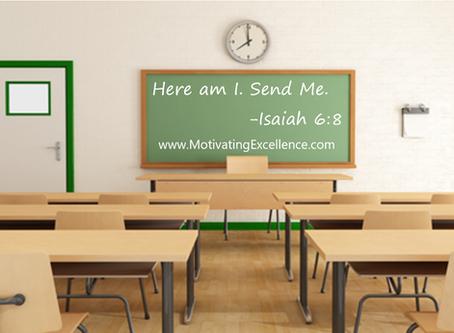 Here Am I. Send Me. Reflection, Teacher Development, and Pedagogy