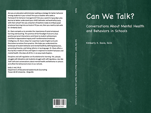 Author-Led Book Study:Mental Health and Behaviors in Schools