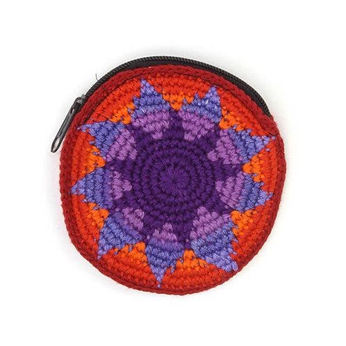 Purse - Crocheted Round