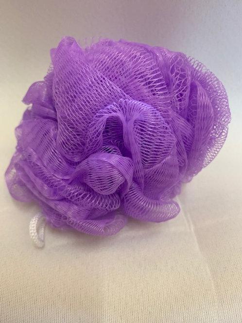 Shower Puff (Purple)