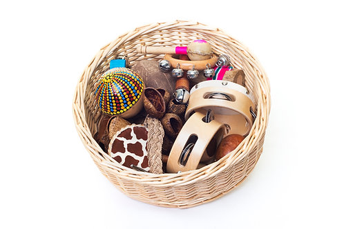 Shake, Rattle & Roll Treasure Basket Collection