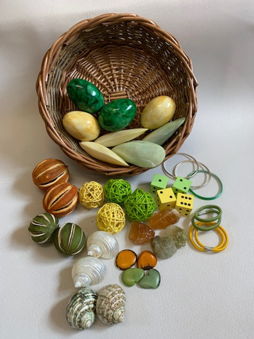 Pairs Treasure Basket