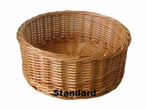 Straight Sided Willow Basket