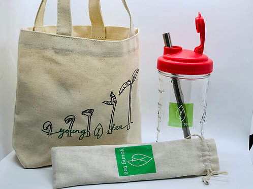 Young Tea Drinkware Kit