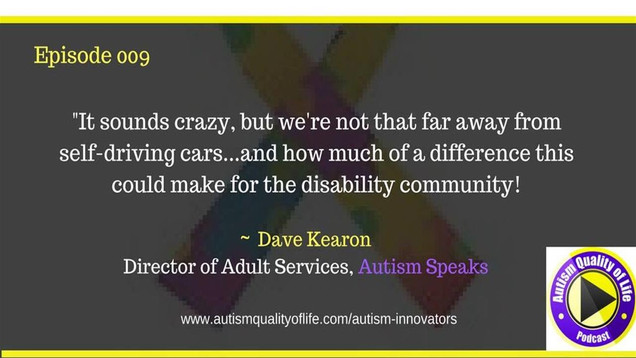 AQOL 009: What's New at Autism Speaks? Interview with Dave Kearon