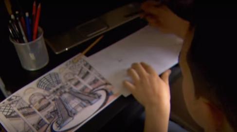 Dyslexic Art Fix on ITV News Calendar