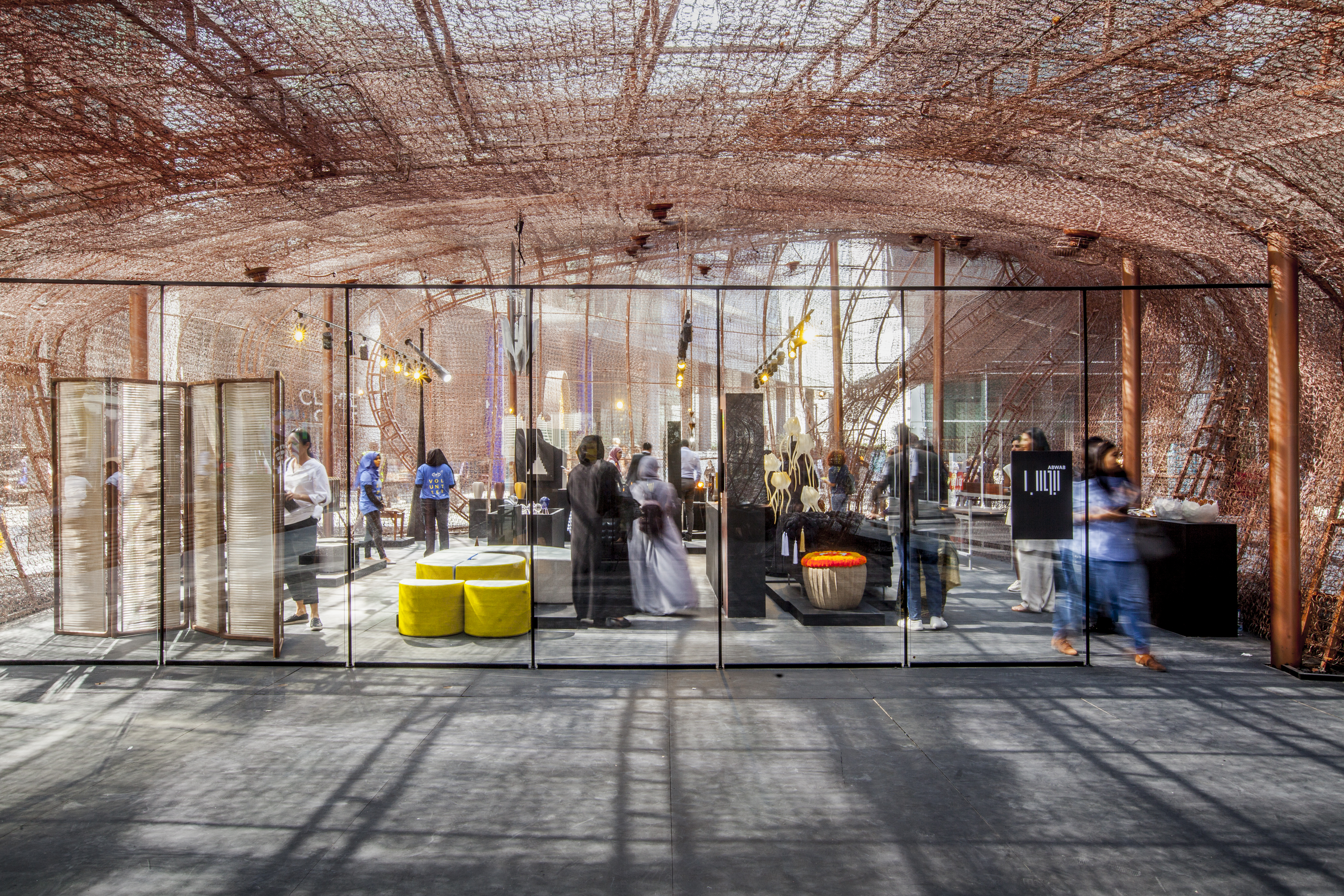 Abwab Pavilion_Interior_Dubai Design Week 2017