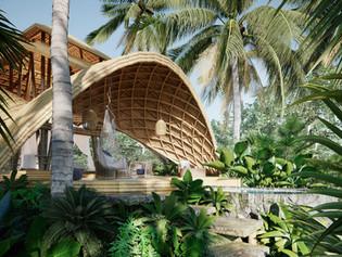 Istana Bambu,Bali