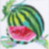 94E-3  Watermelon Coaster.jpg
