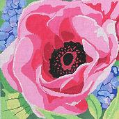 95 Pink Poppy & Hyacinths.jpg