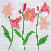 34C Lovely lilies- coral.jpg