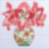 69 Amaryllis in Japanese Vase.jpg