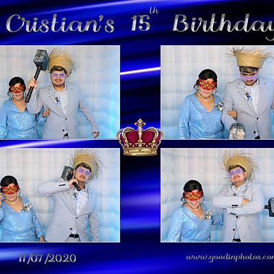 Cristian's 15th Birthday