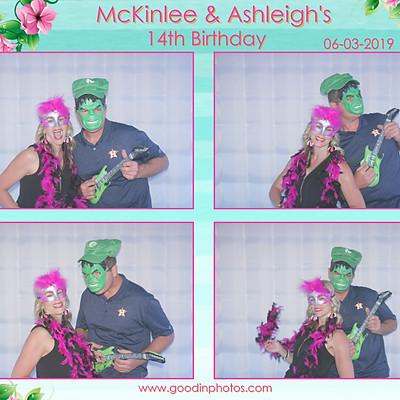 McKinlee & Ashleigh's 14th Birthday