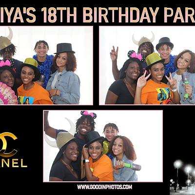 A'kiya's 18th Birthday Party