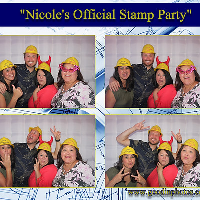 Nicole's Official Stamp Party
