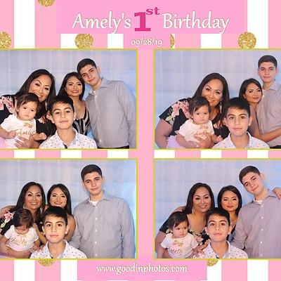 Amely's 1st Birthday