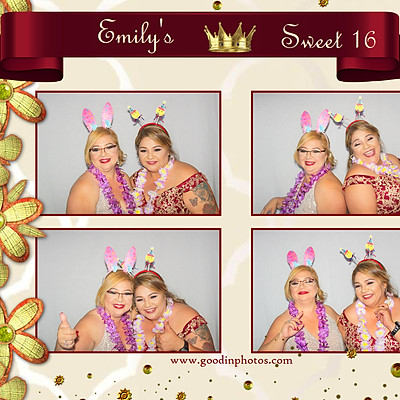 Emily's Sweet 16 - Photo Booth