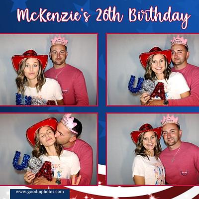 McKenzie's 26th Birthday