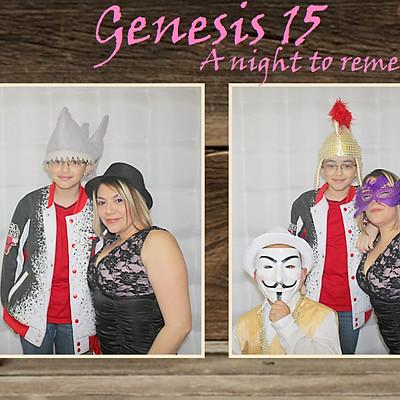 Genesis 15th Birthday