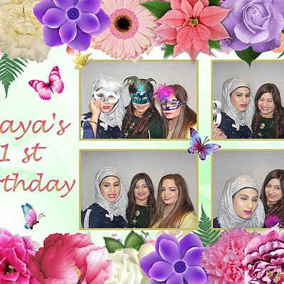 Alaya's 1st Birthday