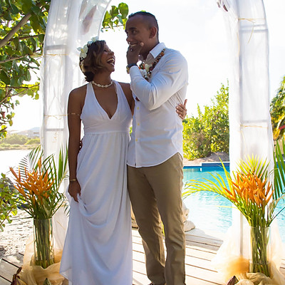 Wedding on island of Grenada W.I.
