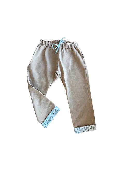 Pantalon Félix - Lin beige