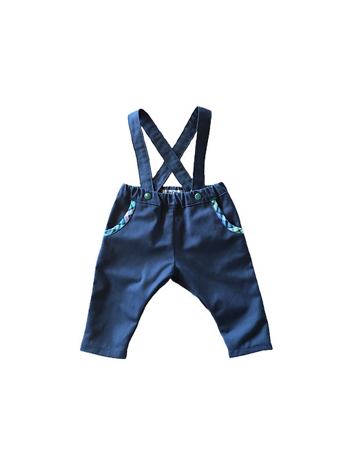 Pantalon à bretelles Louis - SUR COMMANDE