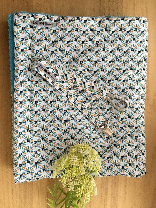 Coffret naissance turquoise