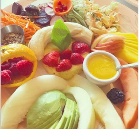 Fresh vibrant salads and platters