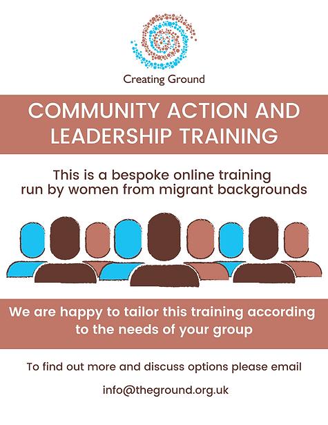 Bespoke Community Organising Training.pn