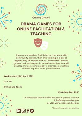 Drama Games for Online - April 2021