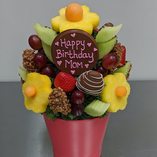 Apple Crunch Delight customized for a birthday