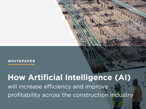 WHITEPAPER - Using technology to drive efficiency in construction