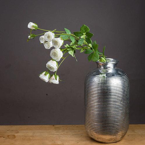 Large Classic White Spray Rose