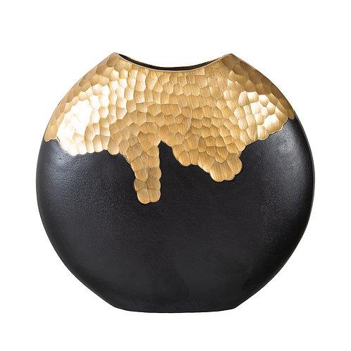 Luxor Black & Gold Vase
