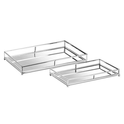 Paloma Silver Trays