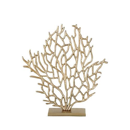 Kaisa Small Gold Tree Sculpture