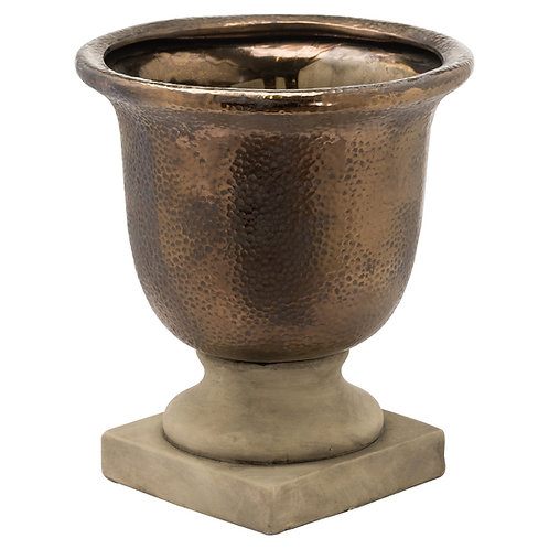 Large Venus Antique Bronze Urn Vase