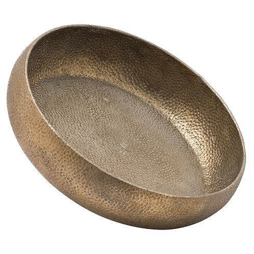 Callias Antique Bronze Charger Bowl