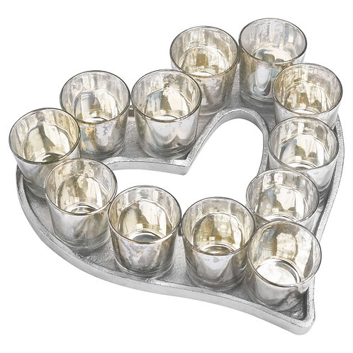 Julietta Aluminium Heart Tray