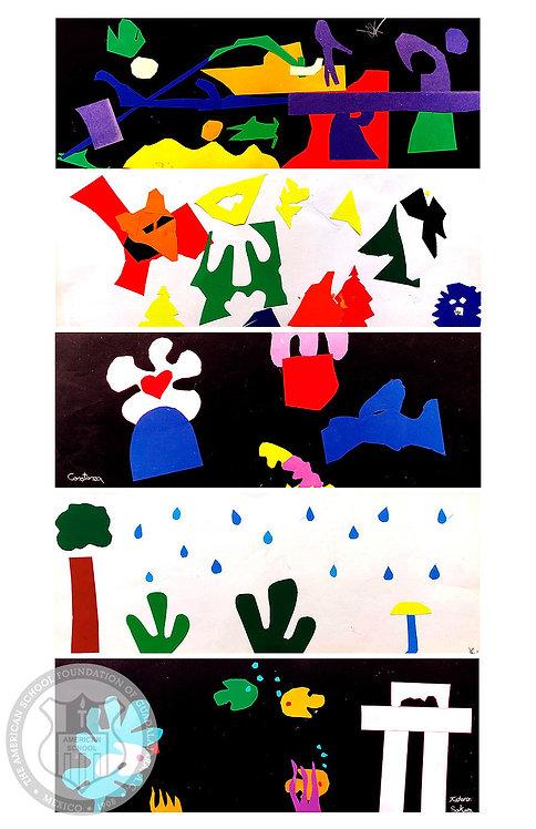 Matisse Painting with Scissors #1