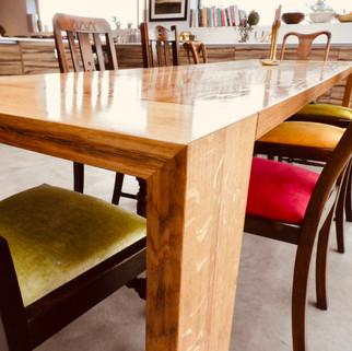 Oak 12 seater table