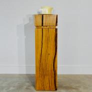 Oak plinth