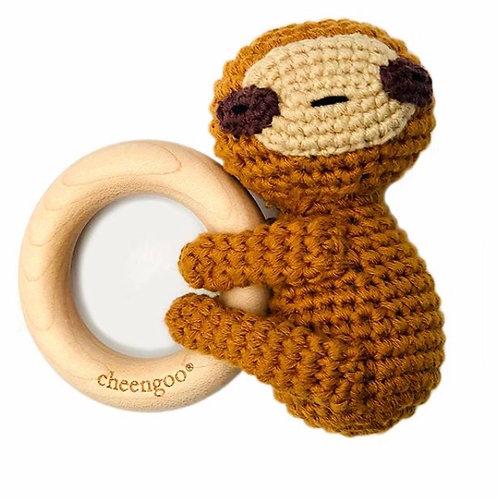 LittleCuddler Teething Rattle by Cheengoo