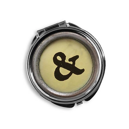 Ampersand Round Pill Box by Trixie & Milo